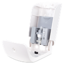 XO2® 'The Bodyguard' Touch Free Hand Sanitiser Dispenser - High Capacity, Low Servicing & Less Waste - Open side view