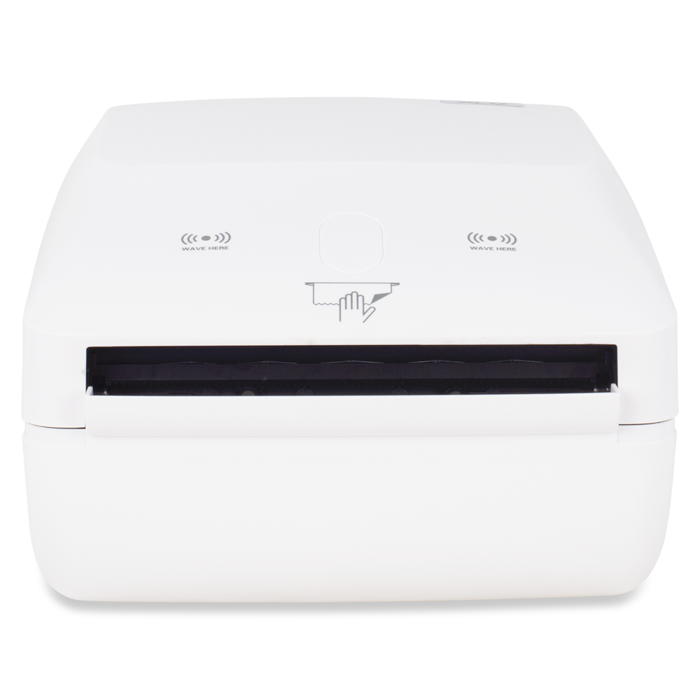 XO2® Mungous Touch Free Hand Towel Dispenser - Bottom View