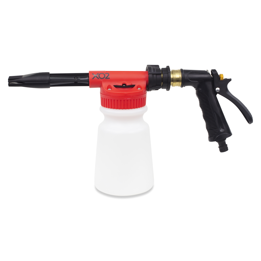 XO2® Carrot Top - Chemical Foaming Gun with Adjustable Dilution
