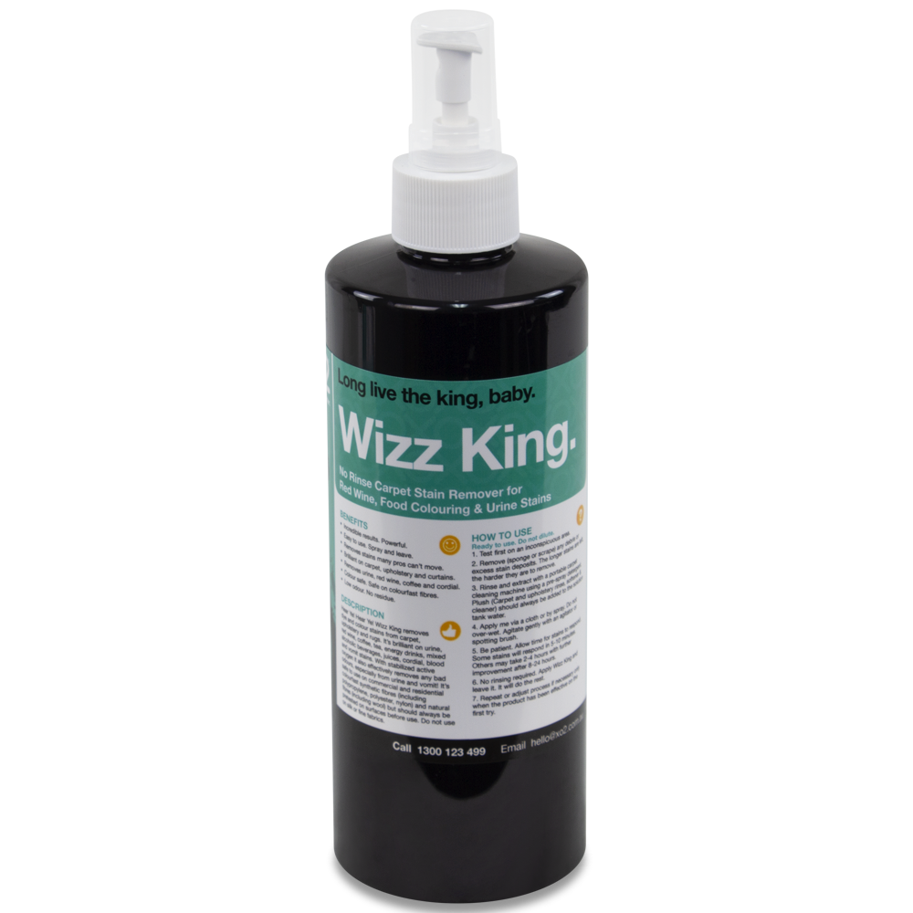XO2® Wizz King - Urine, Dye & Colour Stain Remover With Powerful Odour Destroyer