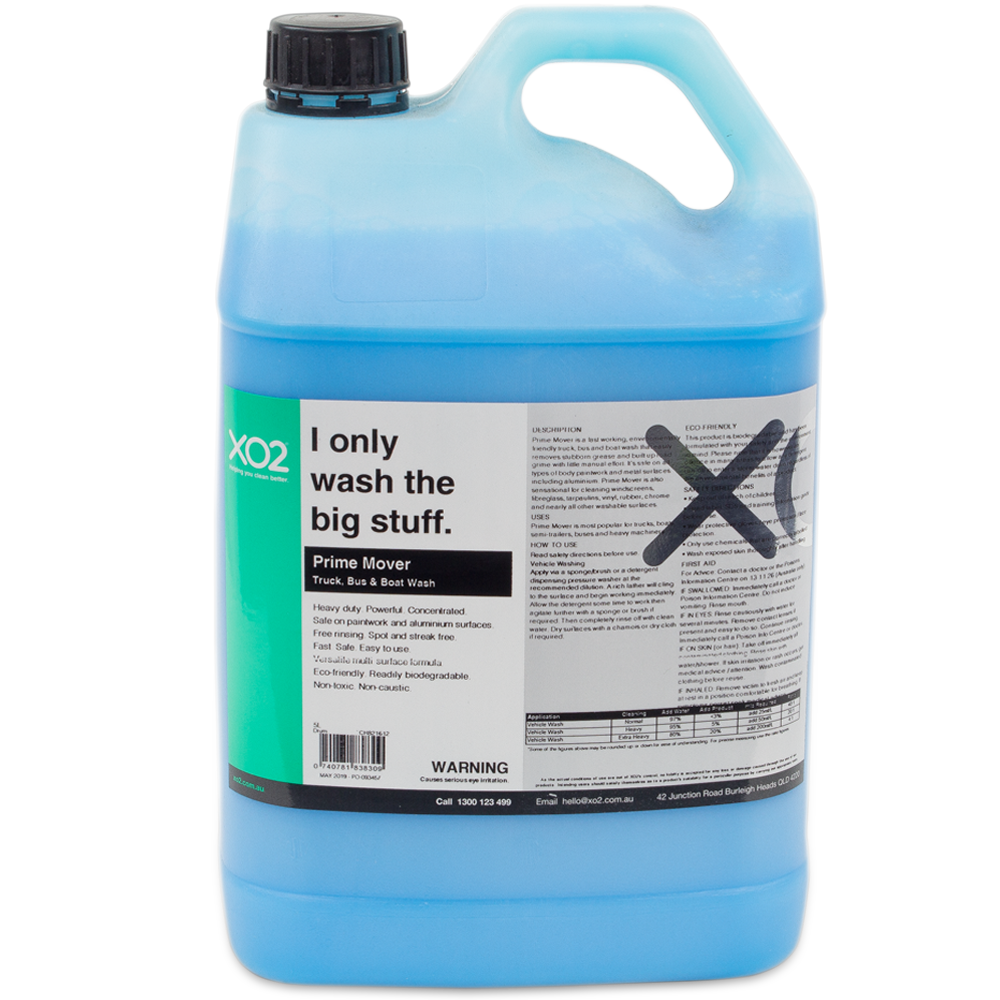 XO2® Prime Mover - Truck, Bus & Boat Wash Concentrate