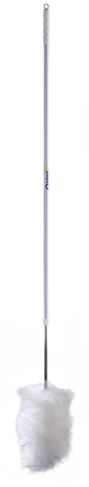 Wool Duster With Extending Handle - 110cm To 180cm long, Assorted Colours